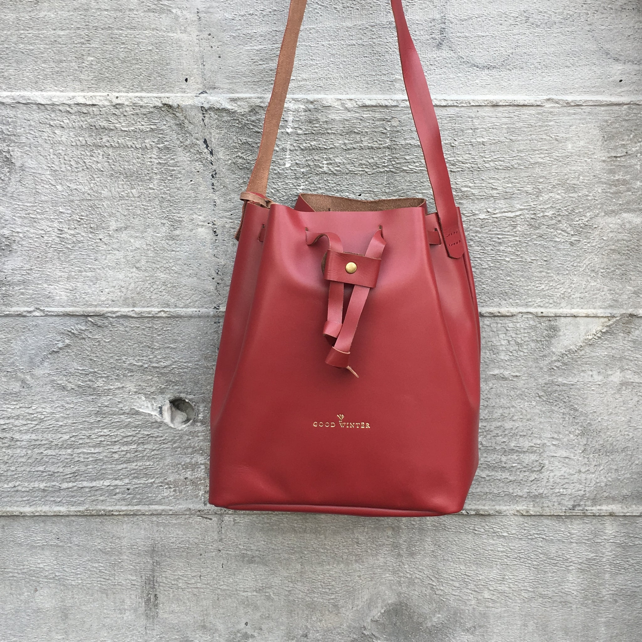 GW2 Bucket Bag Medium Pinot