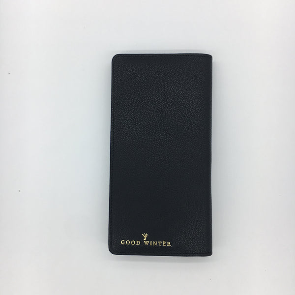 GW7 Leather Wallet Black