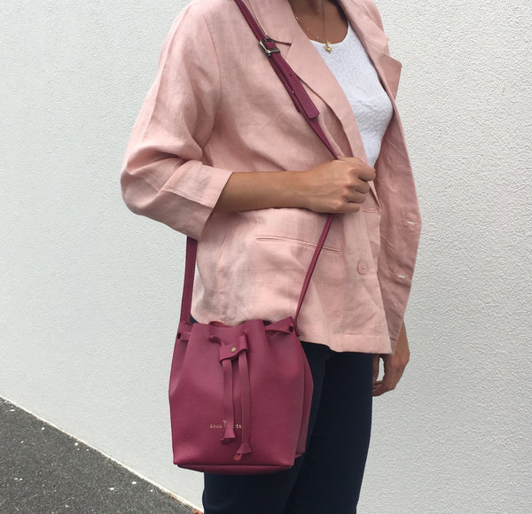 GW1 Bucket Bag Small Magenta Limited Edition