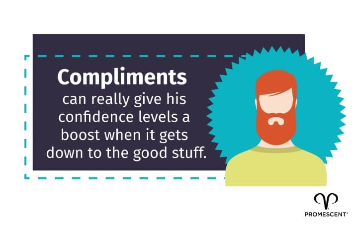 How to compliment a man