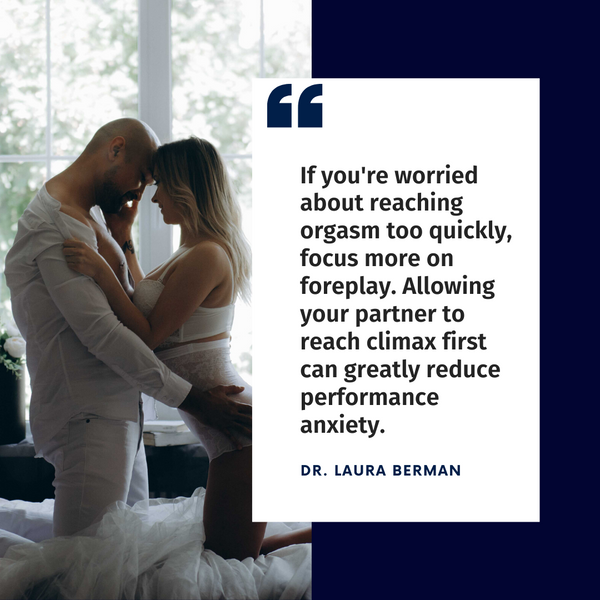 Dr. Laura Berman quote on foreplay tips for men