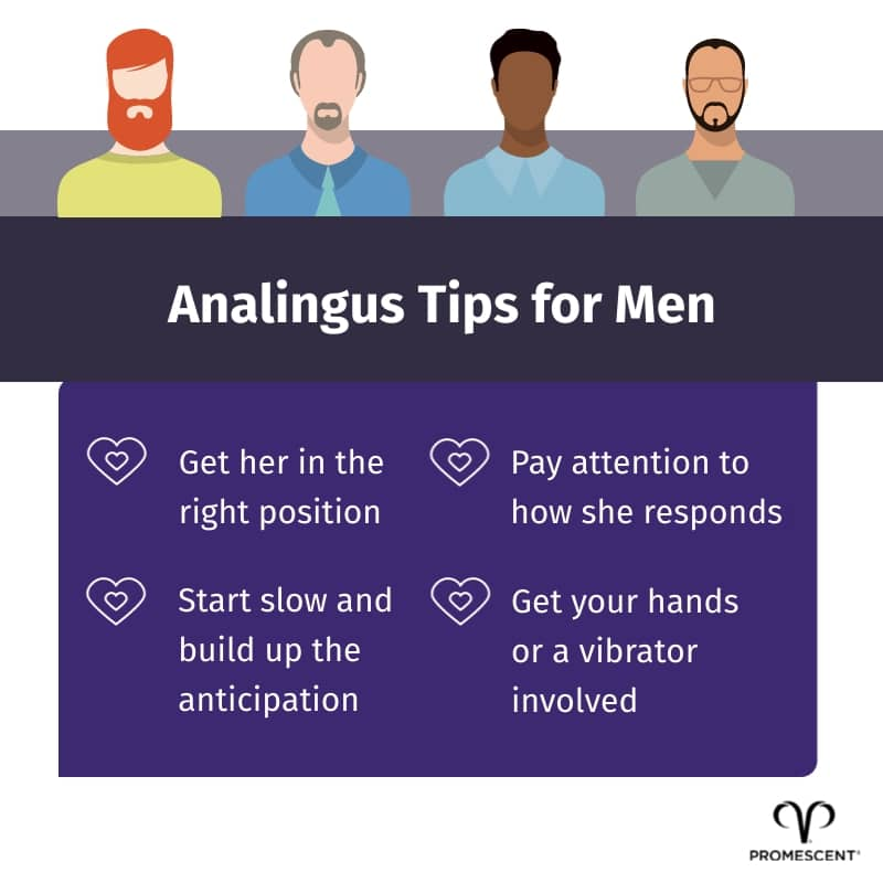 Analingus tips for men to try on women
