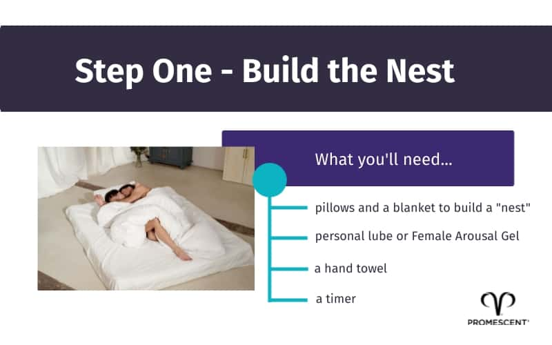 """Tips for building """"the nest"""" for orgasmic meditation"""