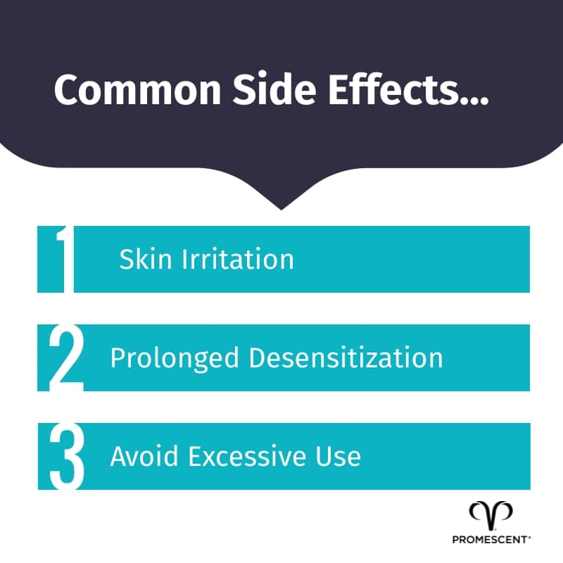 Common side effects of benzocaine