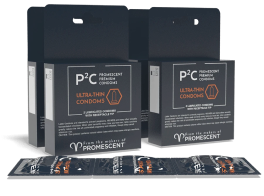 Promescent condoms