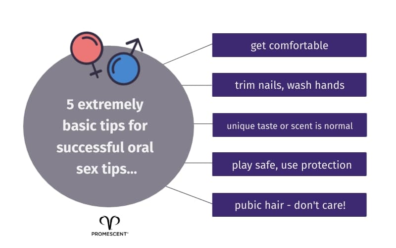 Tips for hygiene and cleanliness before you start cunnilingus