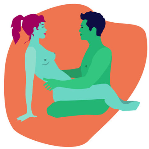 Face to face sex position to make sex last longer