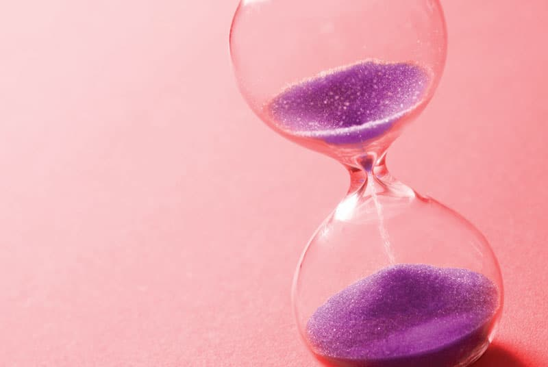 Hourglass timing how long sex should last