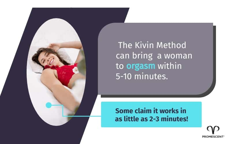 Kivin method can give her an orgasm in 5 to 10 minutes