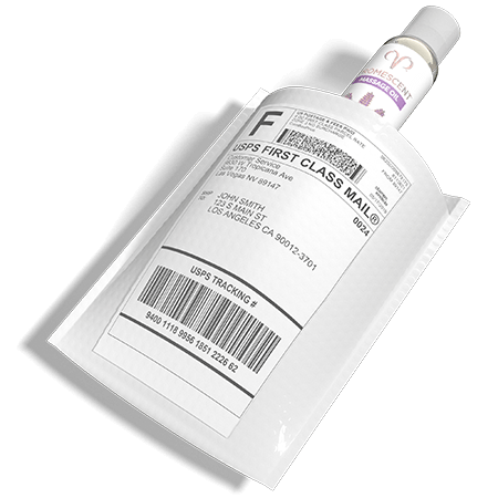 Promescent lavender massage sensual oil comes in discreet packaging