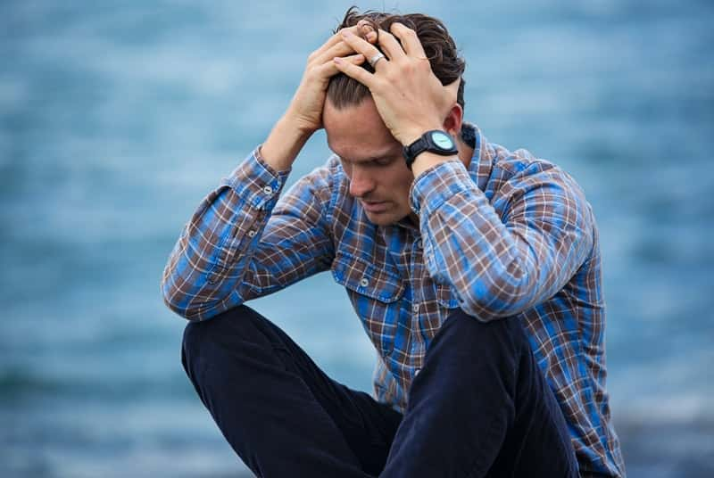 Man with lots of stress has low blood flow to the penis