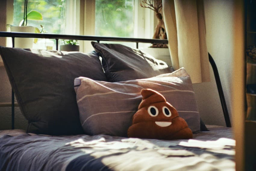 Poop emoji For Bedroom Performance
