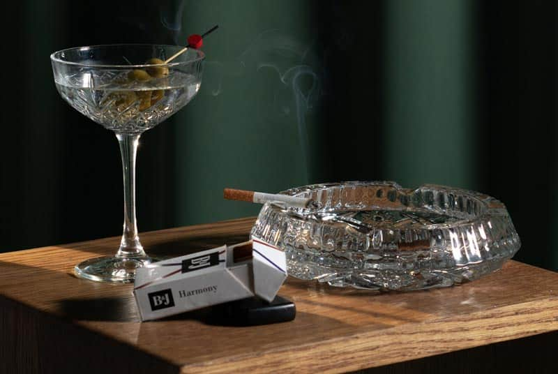 Reduce nicotine and alcohol intake for increased blood flow to the penis