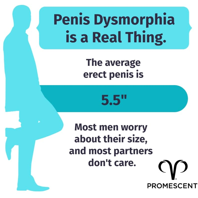 Penis dysmorphia is real. Most men have nothing to worry about with their penis size