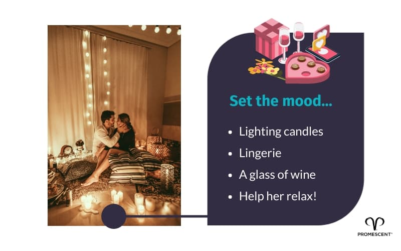Setting the mood to help achieve orgasm
