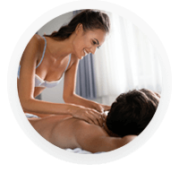 Try something new and connect on a deeper level with partner for sensual massage