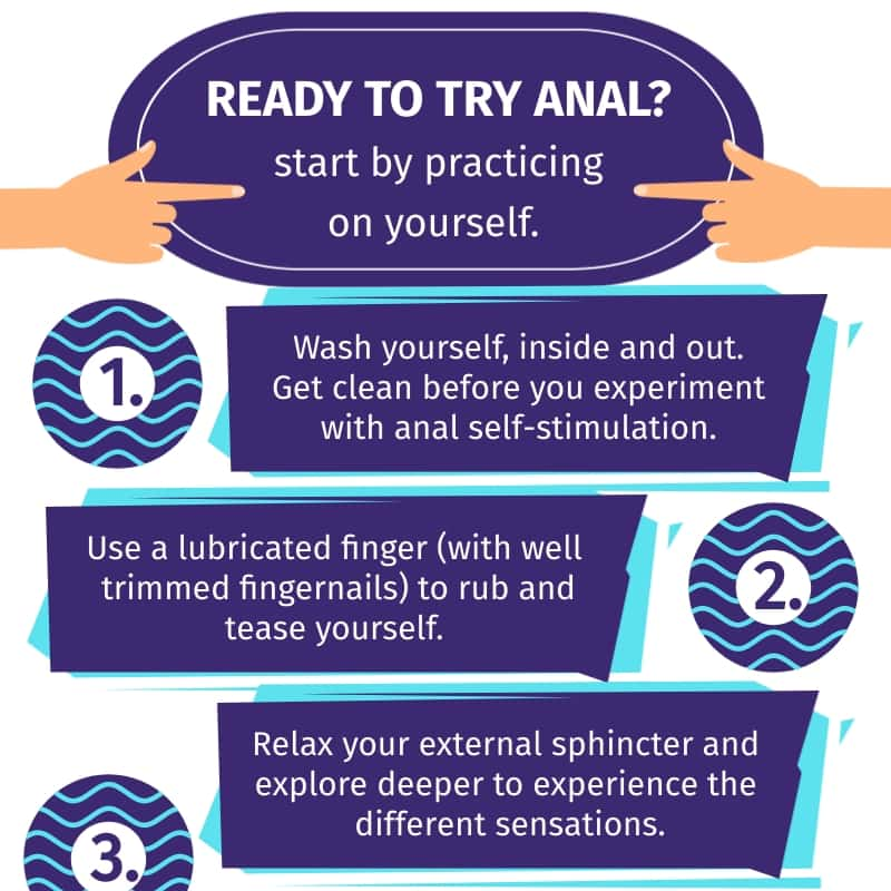 Tips on how to prepare for anal sex