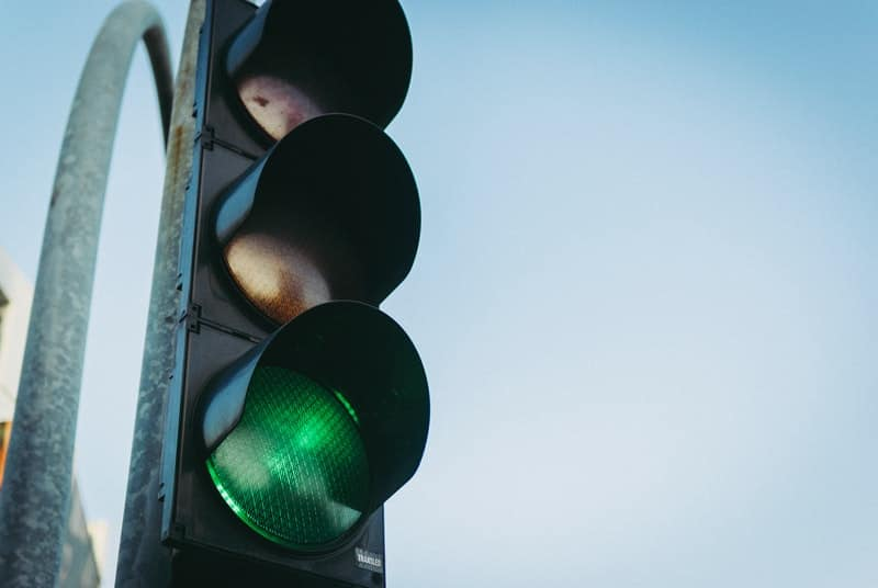 The traffic light system is commonly used in bdsm to express consent or willingness, or not
