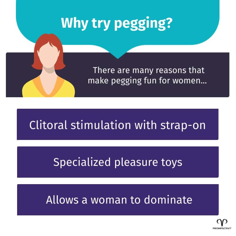 Why women should try pegging
