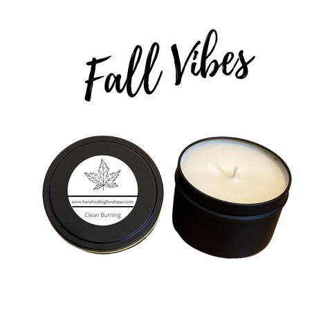 Fall Vibes Candle Collection