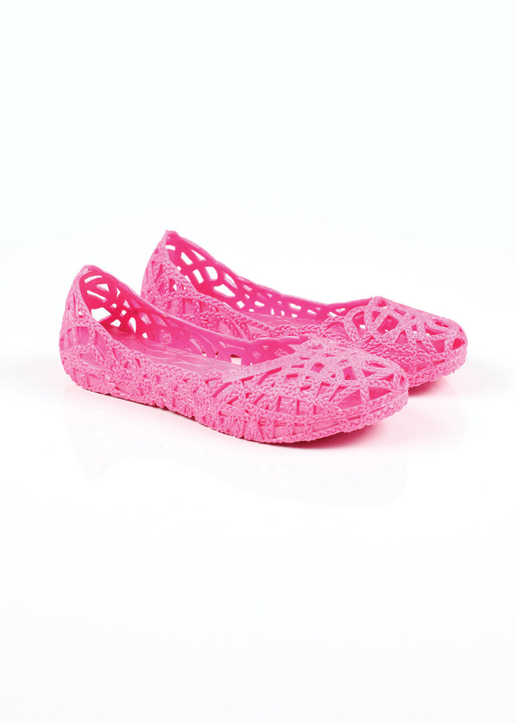 Belle and Beans Jelly Shoe - Pretty in Pink