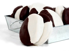 8 Mini Black & White Cookies