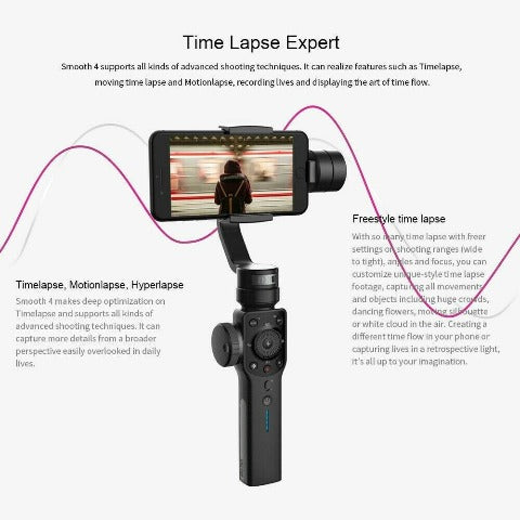 Gimbal Stabilizer for Smartphone 3-Axis Handheld Gimbal Stabilizer