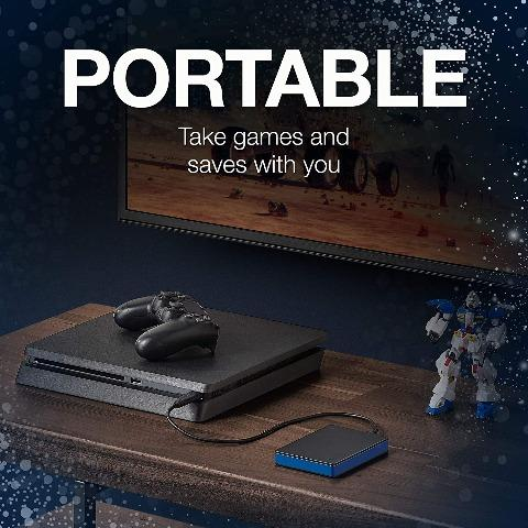 Seatage Portable 2TB External Hard Drive Portable HDD - USB 3.0 For PS4