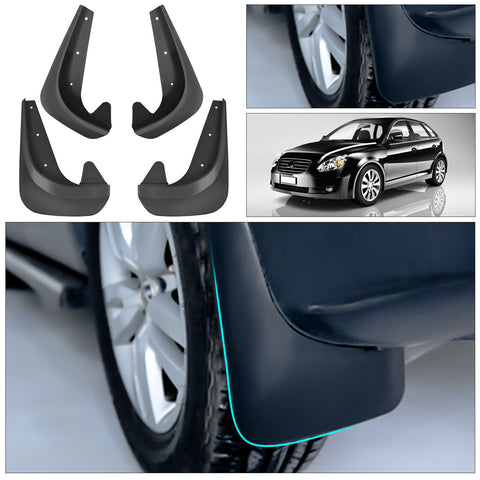 Premium Heavy Duty Molded Universal Mud Flaps Guards Splash Front and Rear