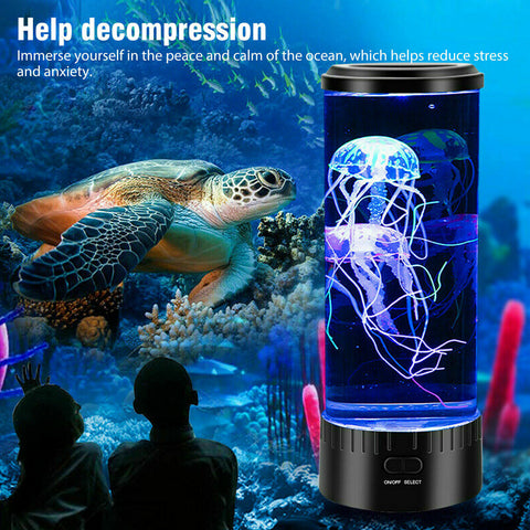 Electric Jellyfish Lamp With Color Changing LED Lights