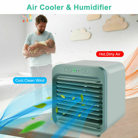 Small Portable Air Conditioner Mini Air Cooler For Small Rooms