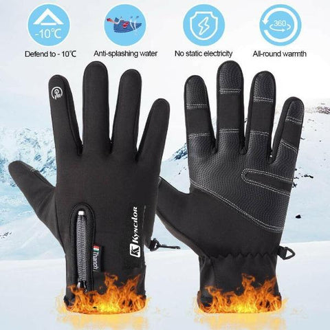 Winter Touch Screen Gloves Waterproof Thermal Glove For Skiing