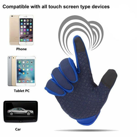 Winter Warm Touch Screen Gloves Waterproof Winter Gloves For Outdoor Sports