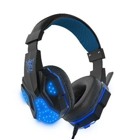 Gaming Headset for Xbox One, PS4, PC, Over Ear Gaming Headphones