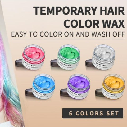 Temporary Hair Color Wax Magic Hair Color Wax