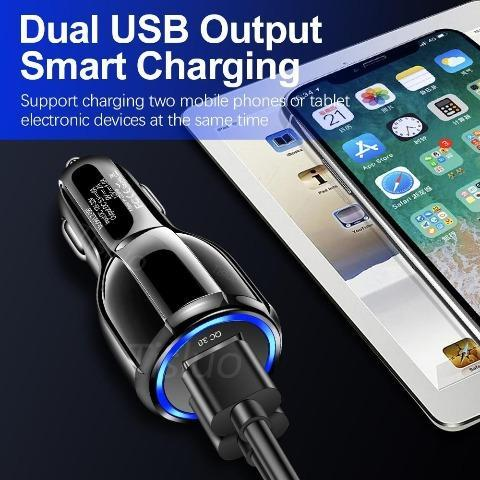 USB Car C Plug, USB Car Charger Fast Charging Phone car charger