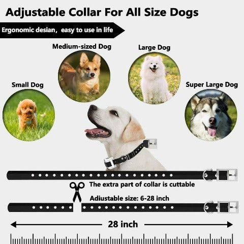Wireless Dog Fence Pet Containment System Waterproof Training Collars