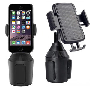 Weather 2020 Upgraded Gooseneck Cup Holder Cell Phone Mount