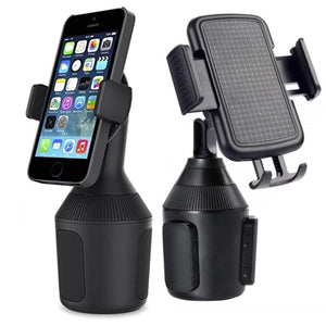 Cup Holder Phone Mount - Universal Adjustable Cup Holder Car Cell Phone Mount