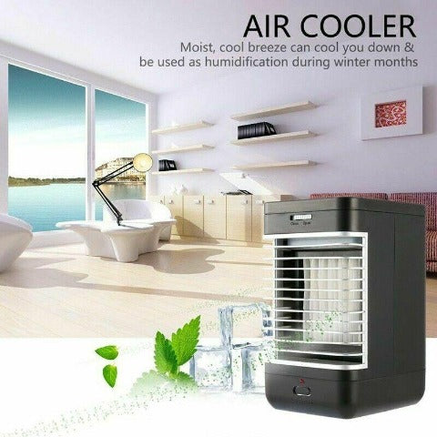 Portable Mini Air Conditioner Personal Indoor AC Unit For Small Rooms