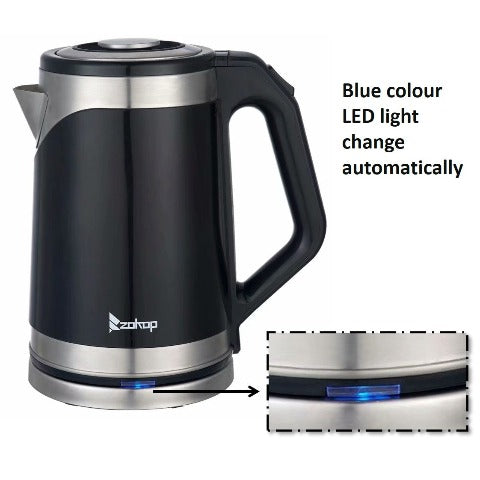 Electric Kettle For Tea Durable Stainless Steel 1.8L Tea Pot
