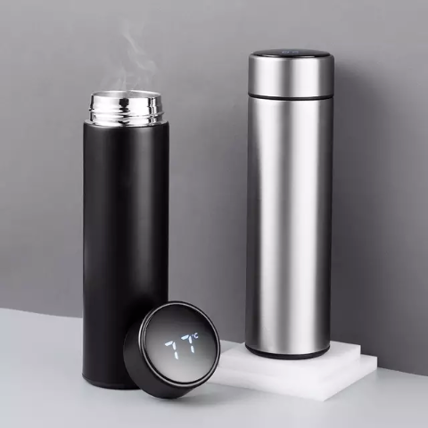 Smart Water Bottle - LED Display Insulated Stainless Steen Vacuum Flask