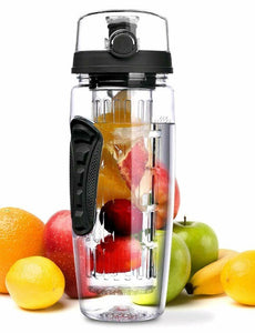 Fruit Infuser Water Bottles & Insulation Sleeve - 32oz