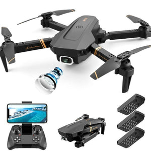 Drone with Camera 3 Batteries 4k Live Video FPV WiFi Mini Drone