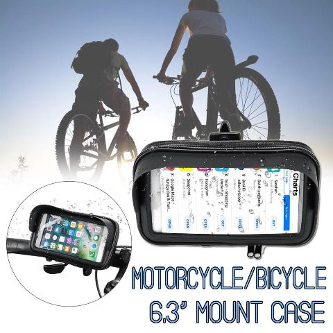 Adjustable Motorcycle phone mount 360° Rotation Universal Bicycle Phone Holder
