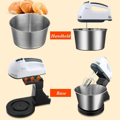 7-Speed Ultra Power Hand Mixer Automatic Electric mixer Whisk Food Mixer