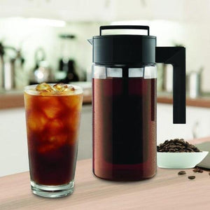 Cold Brew Coffee Maker With Airtight Seal Silicone Handle