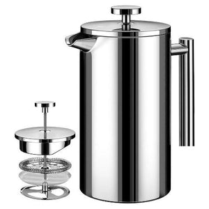 French Press Coffee Maker Stainless Steen 32oz Coffee Press