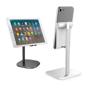 Tablet Stand Adjustable Desktop Stand Holder Dock Compatible with Tablet Phone Holder