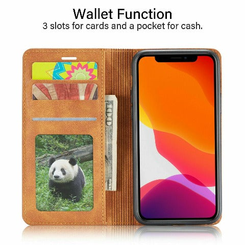 Personalized iPhone Wallet Leatherette Case iPhone 11 case